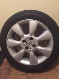 Mini Cooper Wheel with Tyre