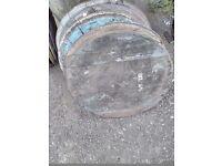 Barrel lids