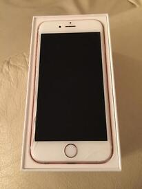 Iphone 6s Rose Gold 64GB with box Faulty