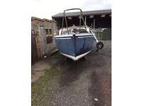 Kingfish K20 fishing boat for sale *as is