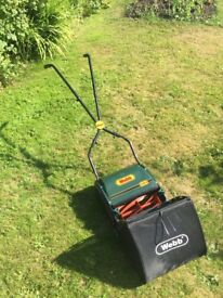 Webb hand push lawn mower