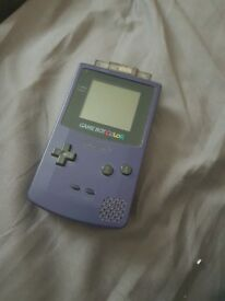 Gameboy Color with Star Wars Racer