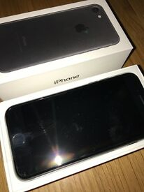 Brand New iPhone 7 32GB in Black For Sale