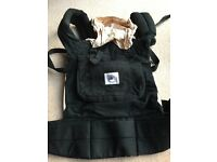 Ergo baby carrier black/camel used very good condition