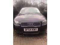 2005 54 Audi A3 Diesel with red leather seats