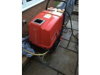 Mobile Pressure WasherEhrle HD 723 Etronic 2 Hot Water Mobile Pressure Washer
