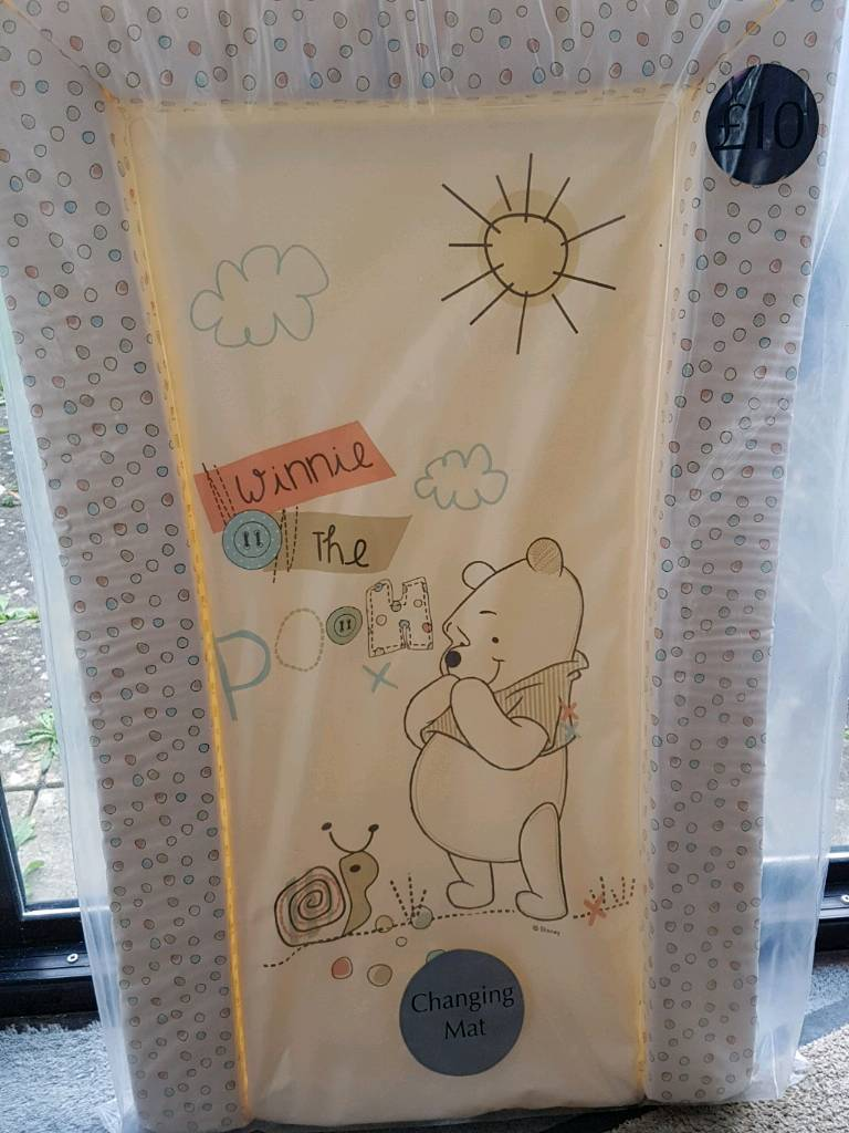 Brand new Winnie the pooh changing mat