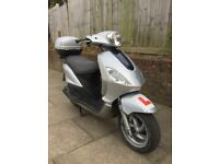 2008 Piaggio Fly 125cc Scooter £650 Low Mileage