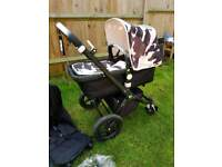 Bugaboo cameleon 3 limited edition black frame and Andy Warhol fabric in great working condition