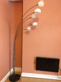 Floor lamp with heavy marble base £20 Abertillery