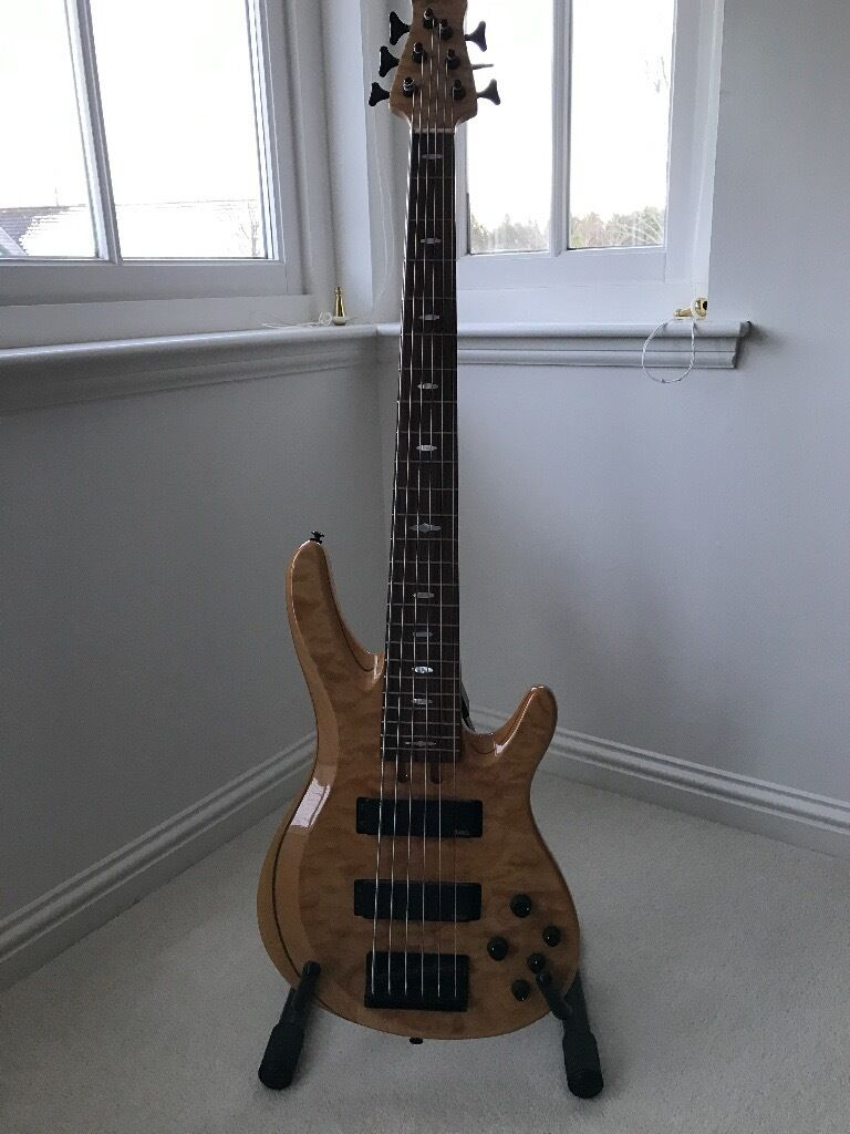 Yamaha trb1006j nt 6 string bass in aboyne for Yamaha 6 string bass