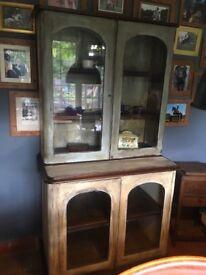 Vintage haberdashery dresser unit