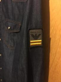 Armani denim shirt