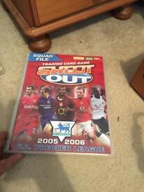 Shoot out cards & book