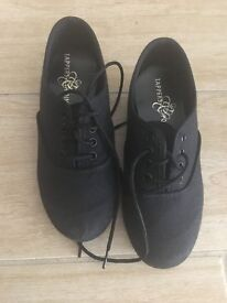 Boys tap and ballet shoes