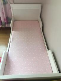 Cot bed/toddler bed