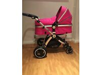 Isafe Travel System - Pushchair/Carrycot & Carseat