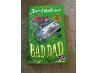NEW Bad Dad Hard Back David Walliams