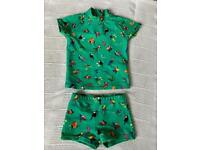 Next Baby Swimsuit Size 3-6 months