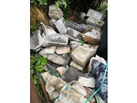Free used breeze blocks bricks and rubble hardcore