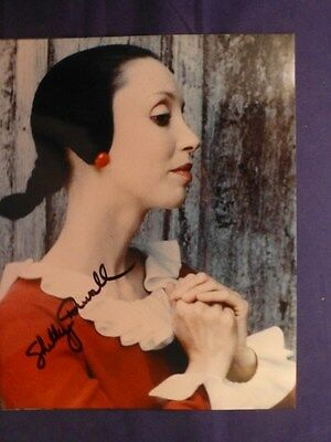 Shelley Duvall Signed 8 X 10 Color  Olive Oil   Photo With Coa
