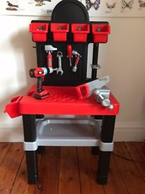 Kids Black and Decker Workbench