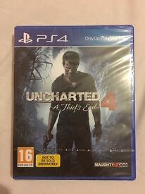 Uncharted 4 - New and Sealed