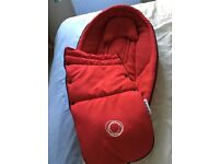 Red Bugaboo Bee Baby Cocoon