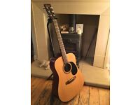 Acoustic guitar, 6 string, Encore W255. Professionally set-up.