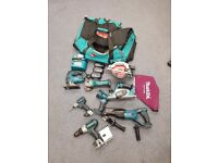 makita battery kit set 9 peice drill jigsaw etc