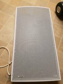 Bathroom electric heater
