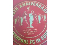 Liverpool Footbal Club Collectables