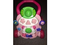 Chicco lights and sounds walker
