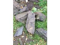 40+ large garden rocks