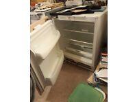 Integrated, frost free larder fridge.