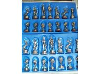 METAL CHESS SET (boxed)