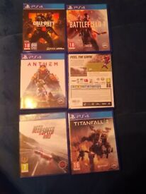 Ps4 game bundle as on photo