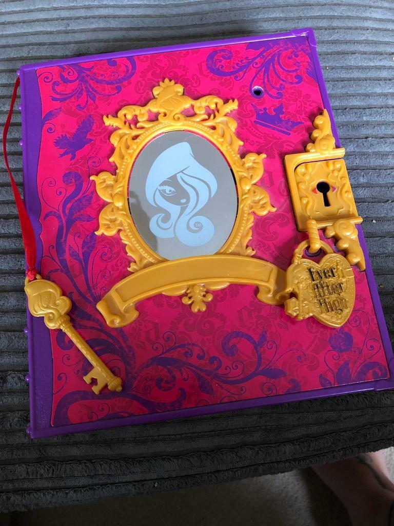 Ever After High Secret Rebelroyal Diary In Chellaston