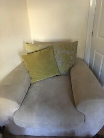 2 x Snuggle Chairs and 1 x Two Seater Sofa