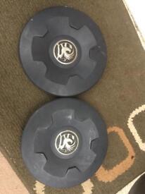 Vauxhall Vivaro centre caps
