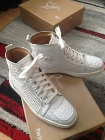 Christian Louboutin sneakers size 7, Mint condition worn once