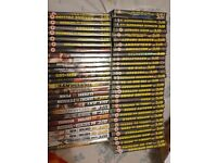 58 UFC dvds need gone taking up space that i need so sensible offers please