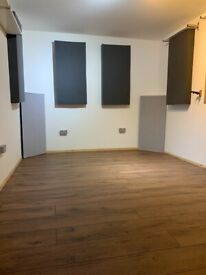NEW BUILD Recording/ Producing /Writing/ Studios available in Canning Town w/ all bills included