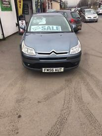 CITREON C4 1.6 PETROL SX MOT 2007 £995