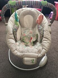 Comfort and harmony vibrating chair