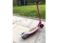 PINK E90 RAZOR ELECTRIC SCOOTER WITH CHARGER