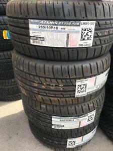 FOUR NEW 255 / 40 R18 FALKEN AZENIS PERFORMANCE