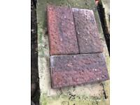 Paving slabs / blocks red