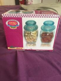 Air tight glass jars
