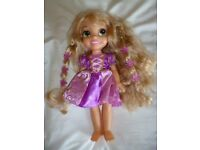 Princess Rapunzel Toddler Doll with light up hair. From Tangled
